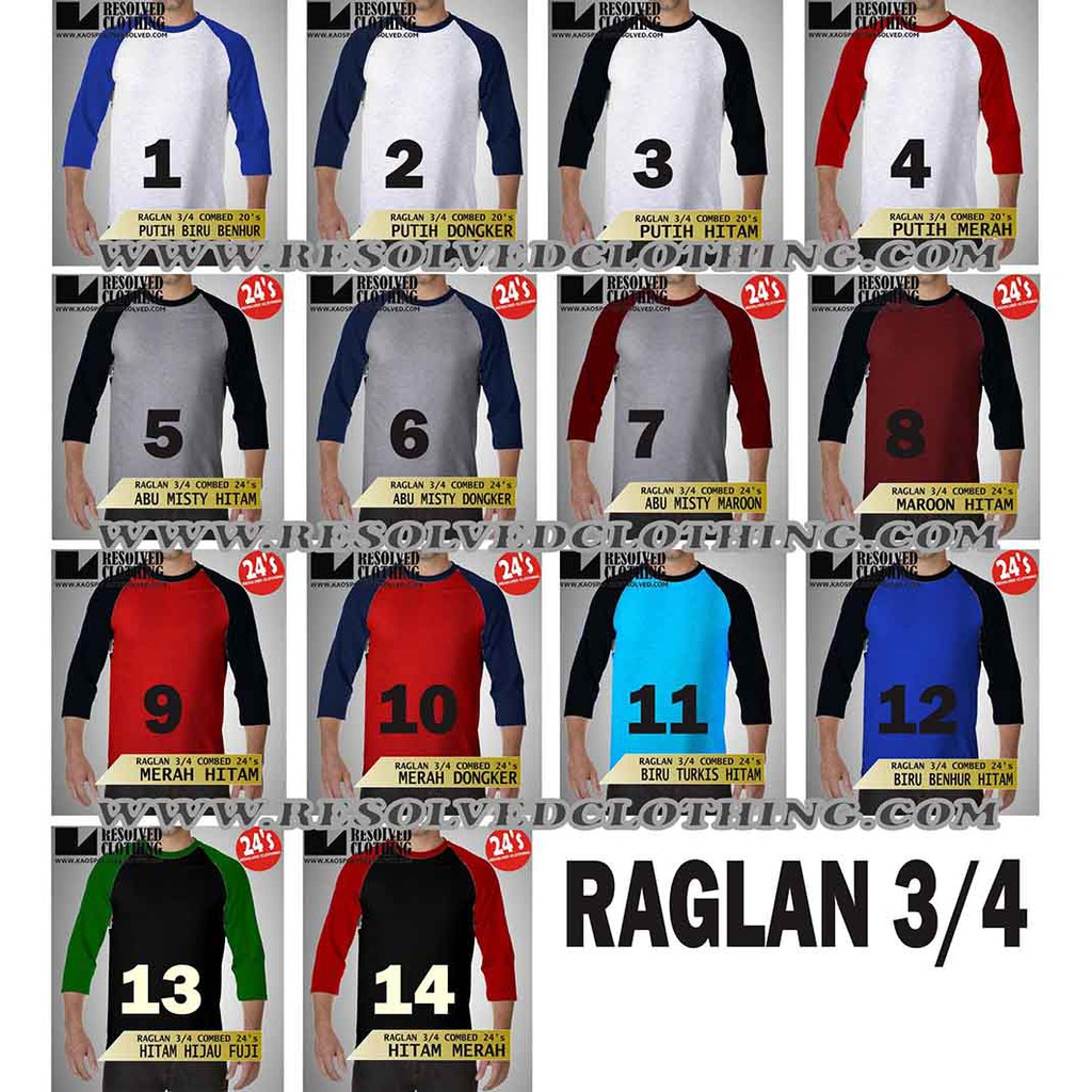 Ramayana Raf Kaos Tshirt Raglan Los Angeles Hitam Shopee Indonesia Ar89 M