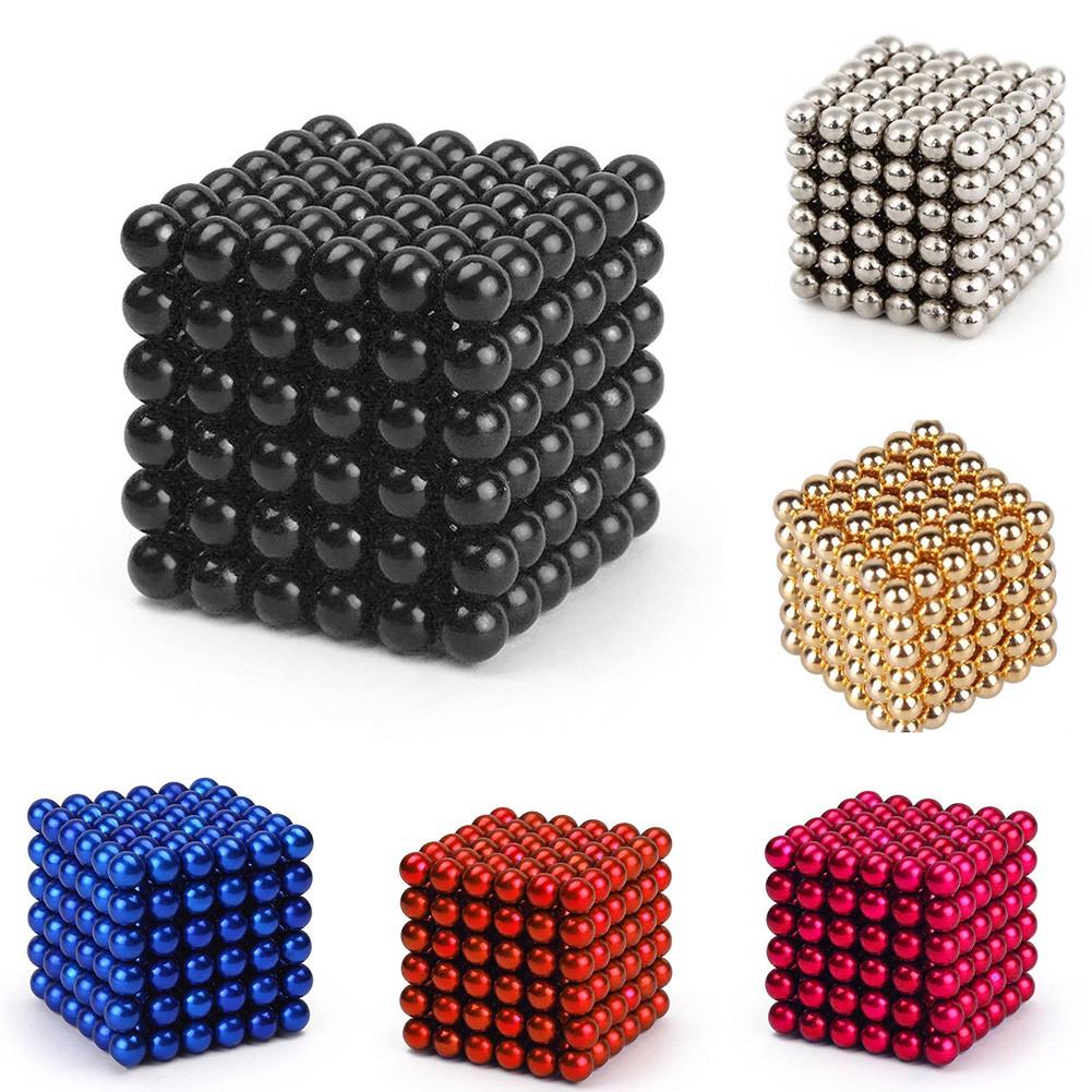 Buckyballs Neocube Magnetic Balls Education Toys 216 Pcs 3mm / Mainan Edukasi Anak   Shopee Indonesia