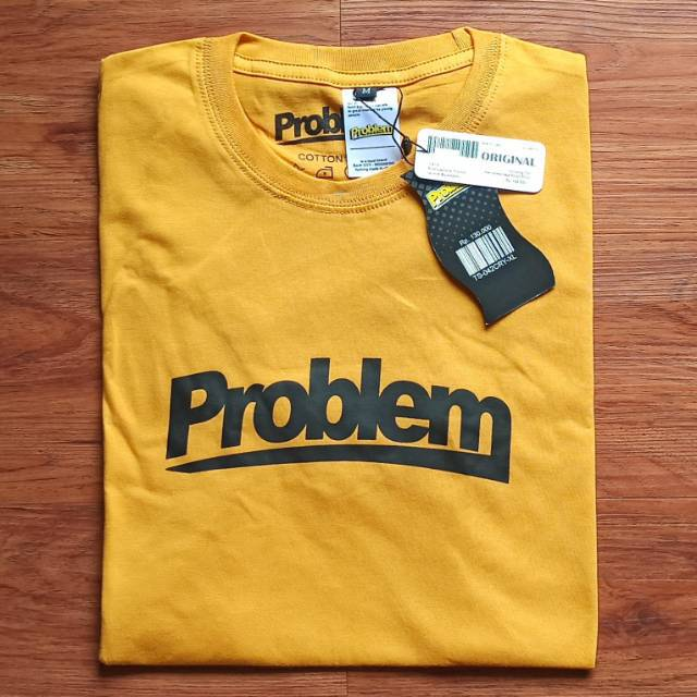 kaos distro problem probs 014 free stiker shopee indonesia kaos distro problem probs 014 free stiker