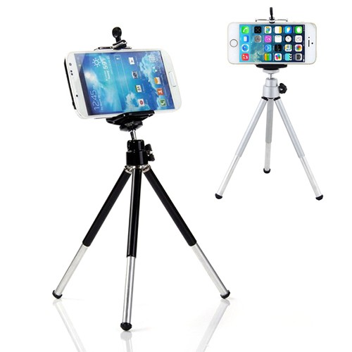 Cell Phone Bracket Adapter Mount Holder For Tripod iPhone | Shopee Indonesia