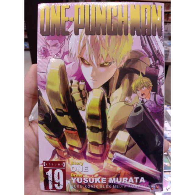Komik One Punch Man 19 Season 3 Episode 1 Shopee Indonesia