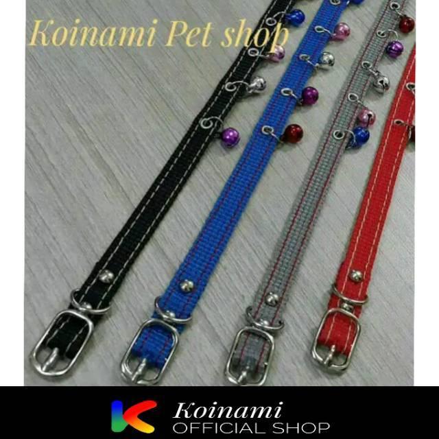 Kalung collar bel kucing musang Anjing Kelinci Motif Lonceng Grosir | Shopee Indonesia