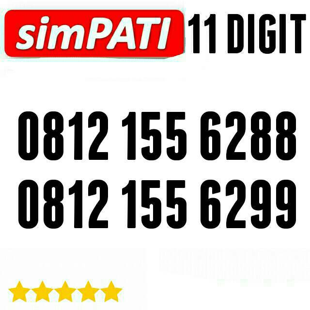 0812 730 6766 perdana nomor cantik telkomsel Simpati 11 digit murah simpel | Shopee Indonesia