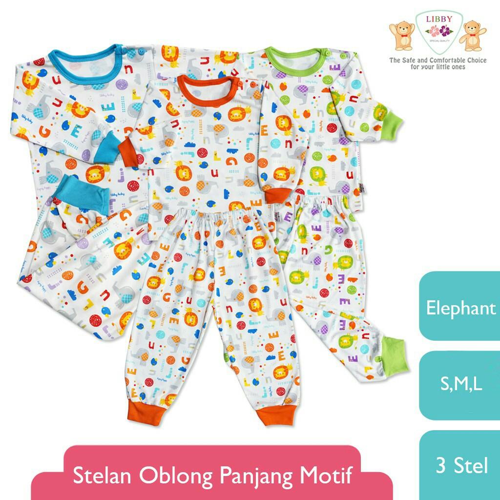 Promo 3 Stel Baju Bayi Newborn Motif Moo Panjang Celana 3stel Diapers Polos Berwarna Spw4 0 3m Terbaru Shopee Indonesia
