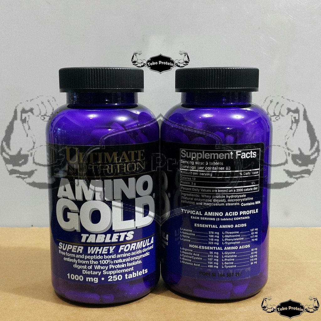 Original Un Amino Gold 250 Tablet 1000 Mg Tab Tabs Ultimate Xtreme 330 330tablet Nutrition Extreme Ori Asli Shopee Indonesia