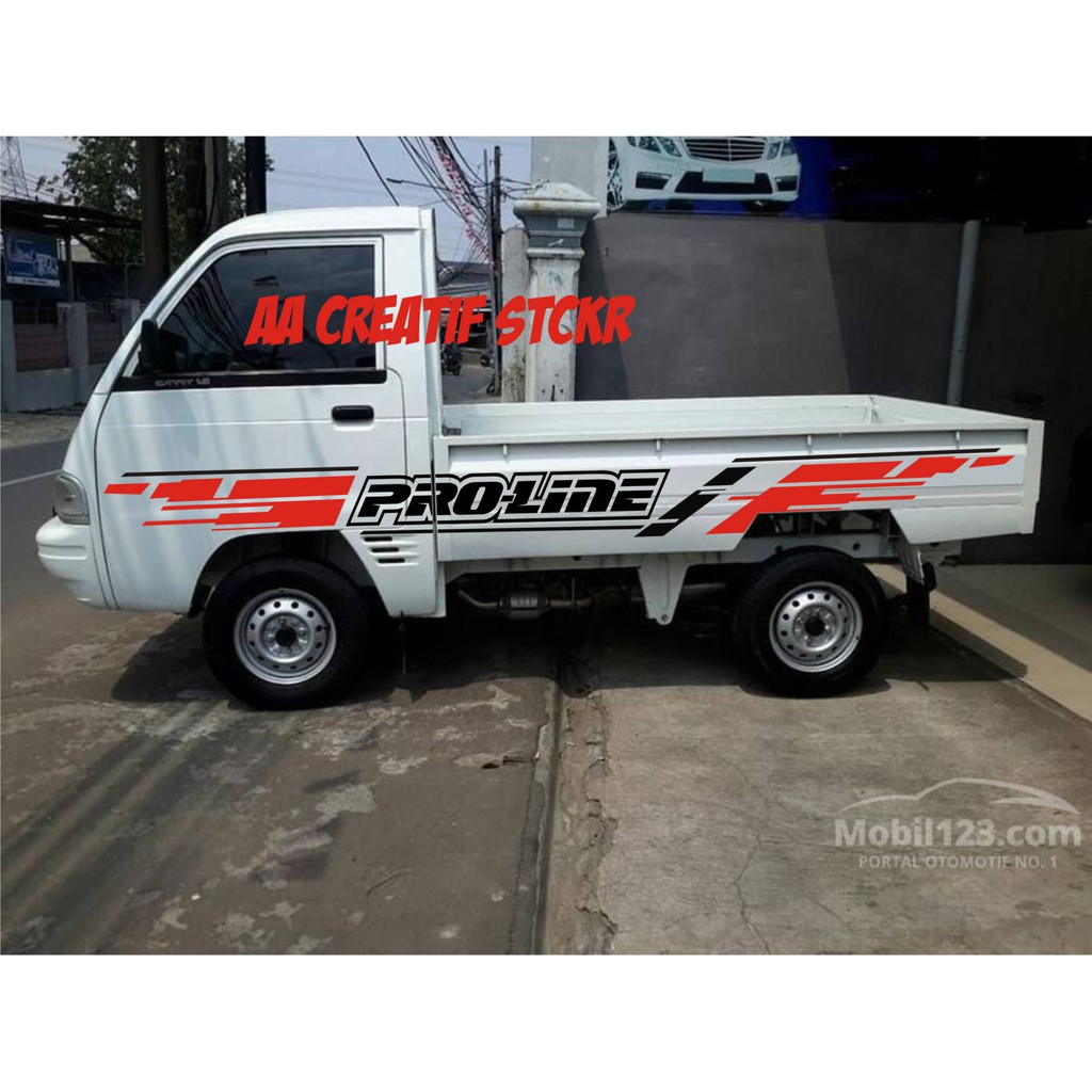 Cutting Sticker Mobil Pick Up Carry Universal Custom