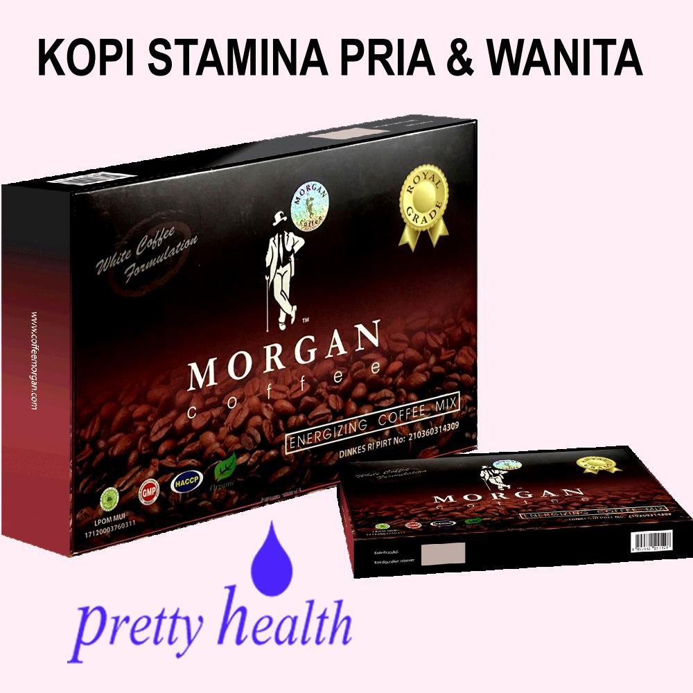 Unik Kopi Morgan Coffee Stamina Pria Wanita Limited Limmit 10 Sachet Box Shopee Indonesia