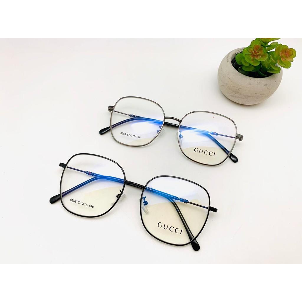 Frame Kacamata Gucci Kotak Besi Korea Pria Wanita murah ...