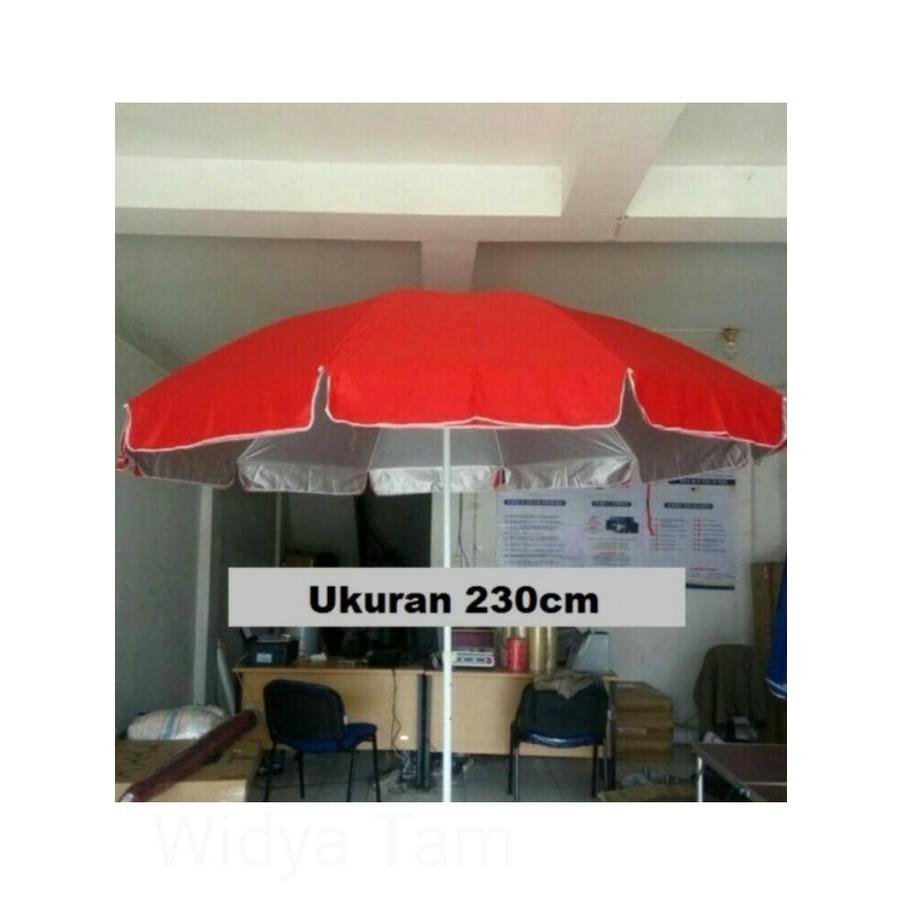 Payung Cafe Pantai Jualan Tenda Parasol 180cm Daftar Harga Pelangi Lapak An Dagang Kaki Lima Pkl Taman Stand Diameter 230cm 2lapis Bandung Bazar