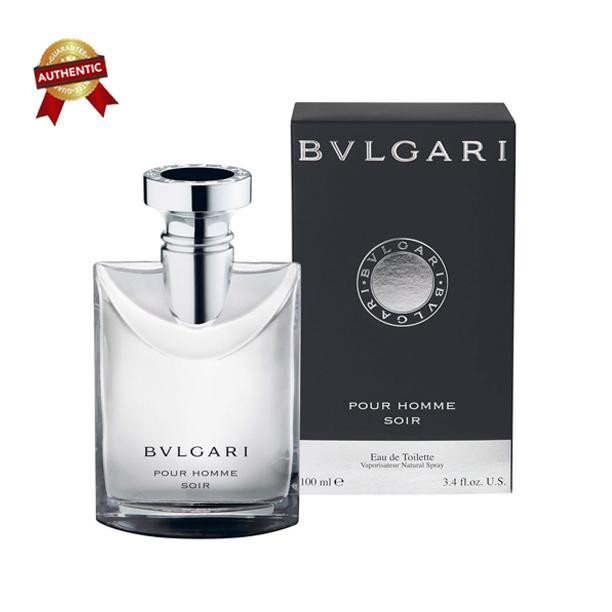 Unik Parfum Original Pria 100 Bvlgari Pour Homme Soir Man 100ml Parfum Asli Counter Limited |