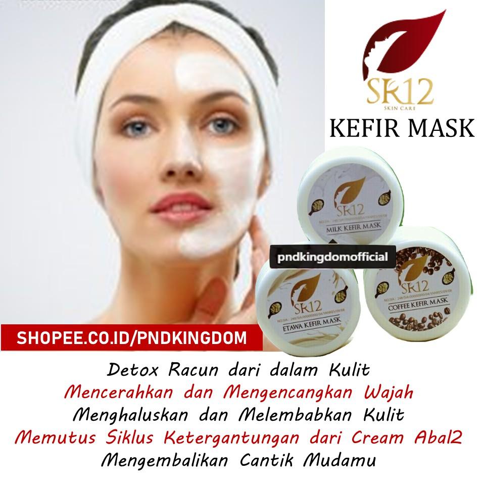 TERLARIS SR12 Masker Kefir SR12 Kefir Mask SR12 (Masker Wajah Herbal) | Shopee Indonesia