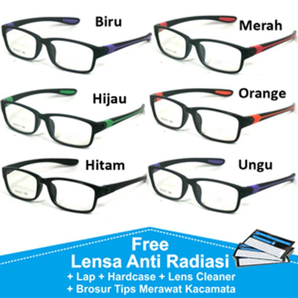 frame kacamata minus BOSS ( frame+lensa) B063 kacamata pria anti radiasi  350b0444ed