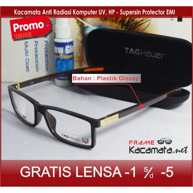 Frame Kacamata Police + Lensa Minus Baca Frame Pria Wanita Kacamata Hitam  Minus Korea  f14c226e1d