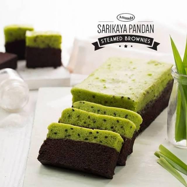 Amanda Brownies Sarikaya Pandan
