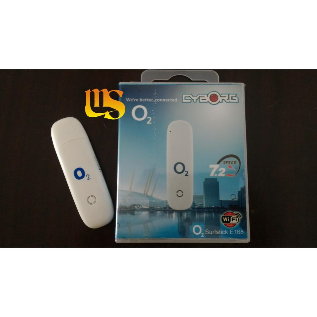 Modem Cyborg E168 O2 Speed 72mbps Unlock Shopee Indonesia Usb Flash 4g Lte Cx01 300mbps