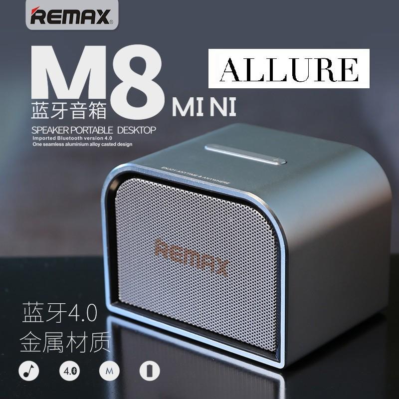 Remax RB M8 Mini Aluminium Portable Bluetooth Premium Speaker Compatible Xiaomi iPhone