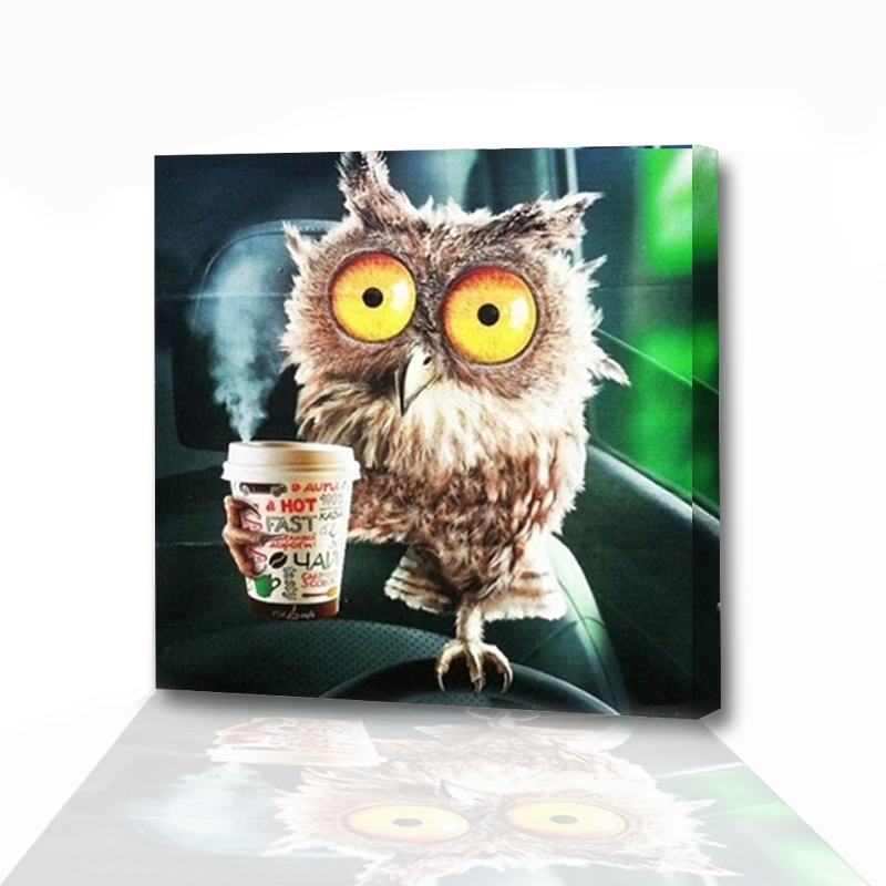 6200 Gambar Mosaik Hewan Burung Hantu HD Terbaru