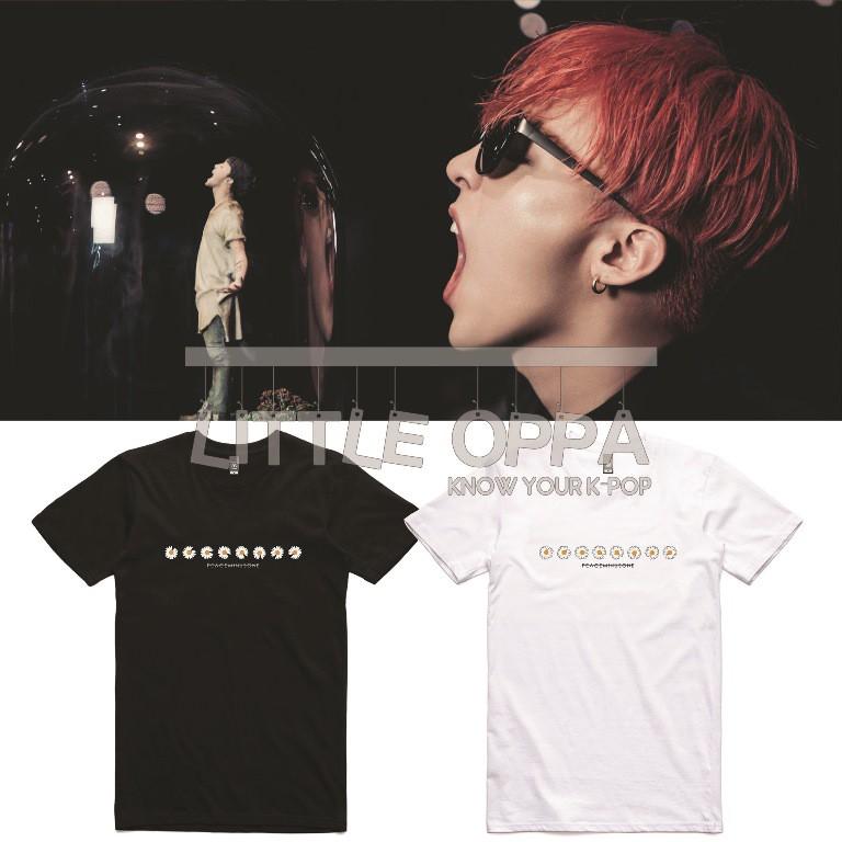 T Shirt Kaos Bigbang G Dragon Peaceminusone Flower Logo Shopee Indonesia