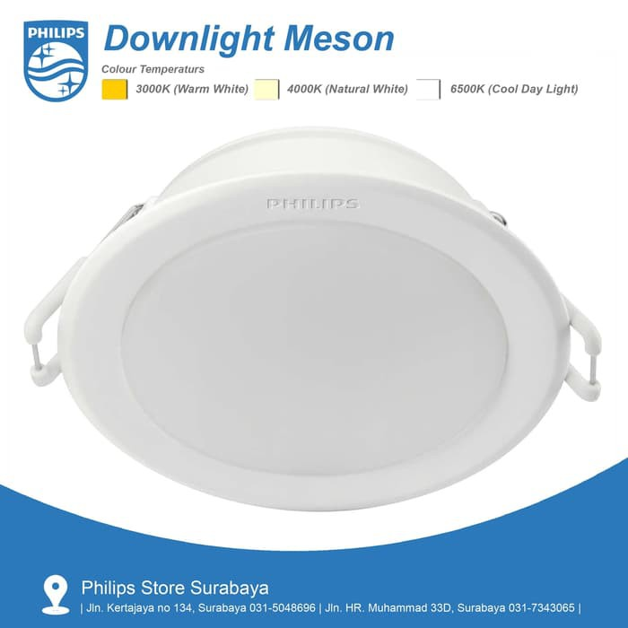 Downlight Led Philips 59203 Meson 4 Quot 10 W Shopee Indonesia