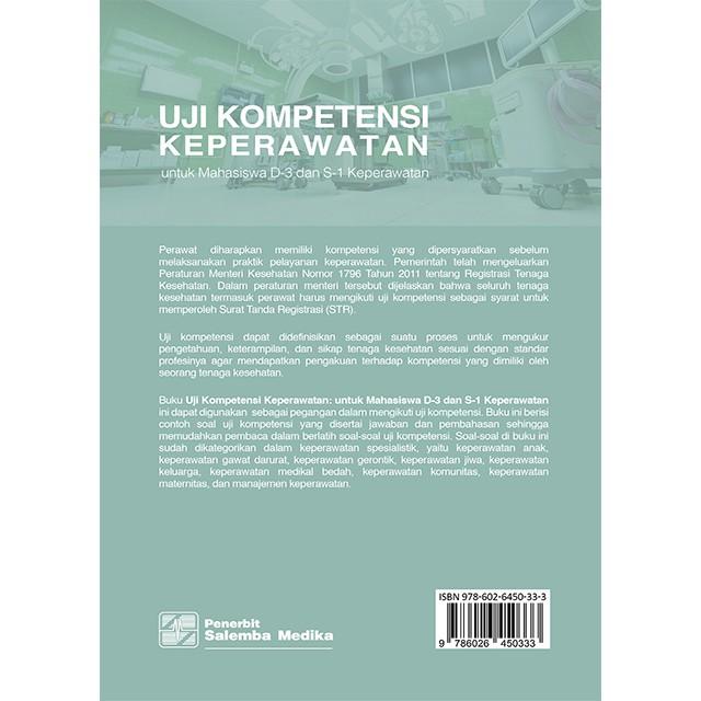 Uji Kompetensi Keperawatan Untuk Mahasiswa D 3 Dan S 1 Keperawatan Dherlirona Hendar Sutisna Shopee Indonesia