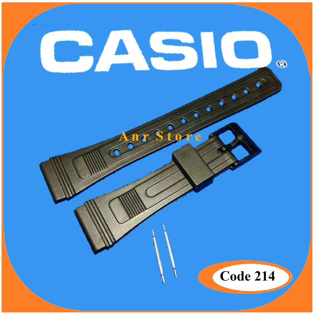 Harga Dan Spesifikasi Tali Strap Rubber Karet Jam Tangan Casio Resin Analog And Digital Watch Aq S810w 3av Pria Hijau W 720 W720 Shopee Indonesia Ca 53w Ca53w