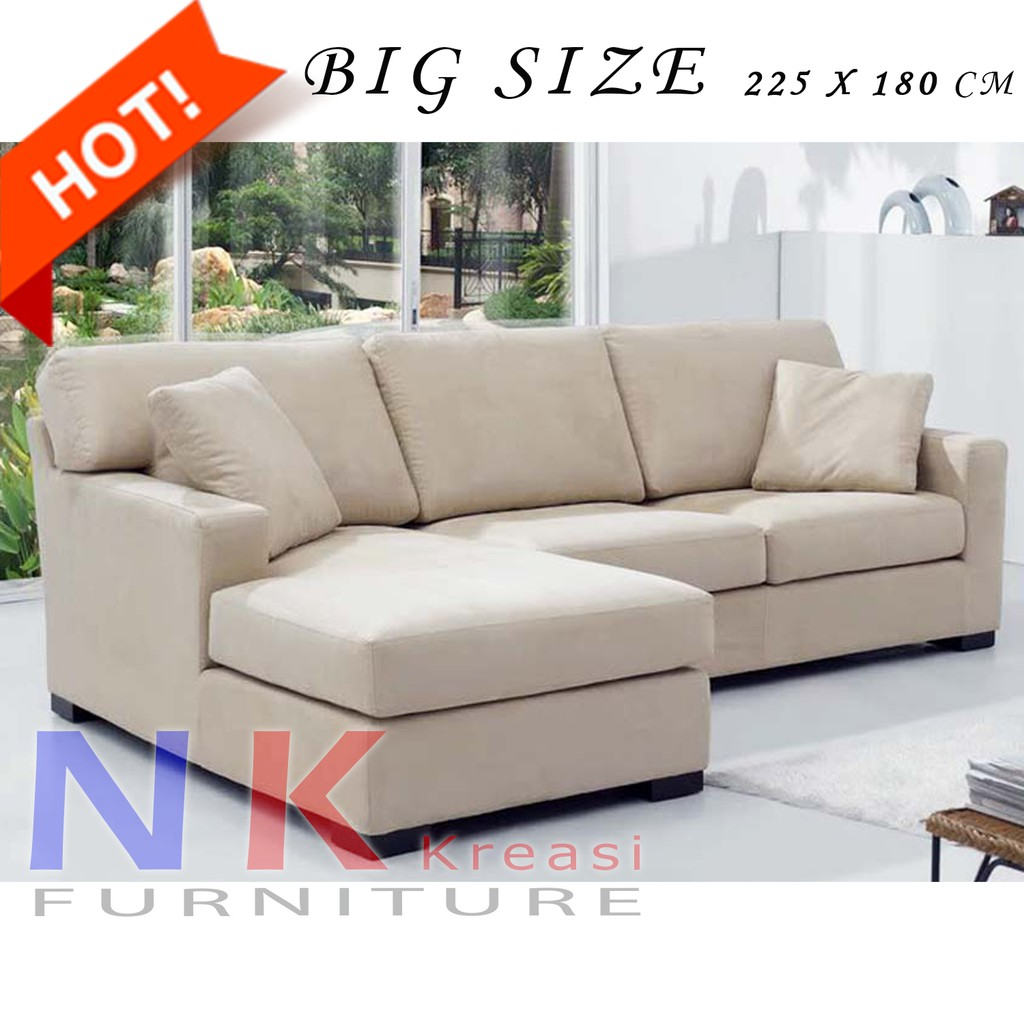 Sofa Kursi Ruang Tamu L Minimalis Mewah Sofa Santai Sofa Sudut Modern Meja Shopee Indonesia