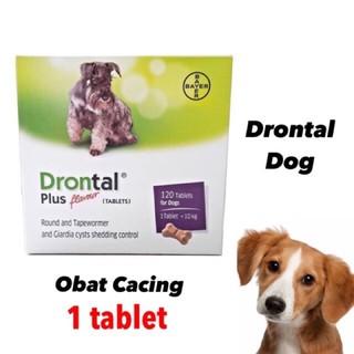 Drontal Plus Flavour pentru caini - 2 comprimate