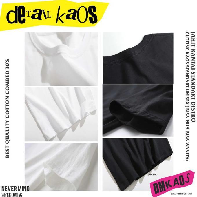 Termurah Dmkaos Cod Kaos T Shirt Tumblr Tee Ootd Anime Jepang Aesthetic Baju - S, Hitam