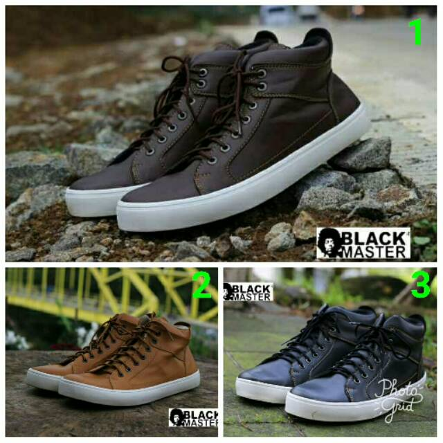 Sepatu Blackmaster Arl dc high  2f2dbe49b8