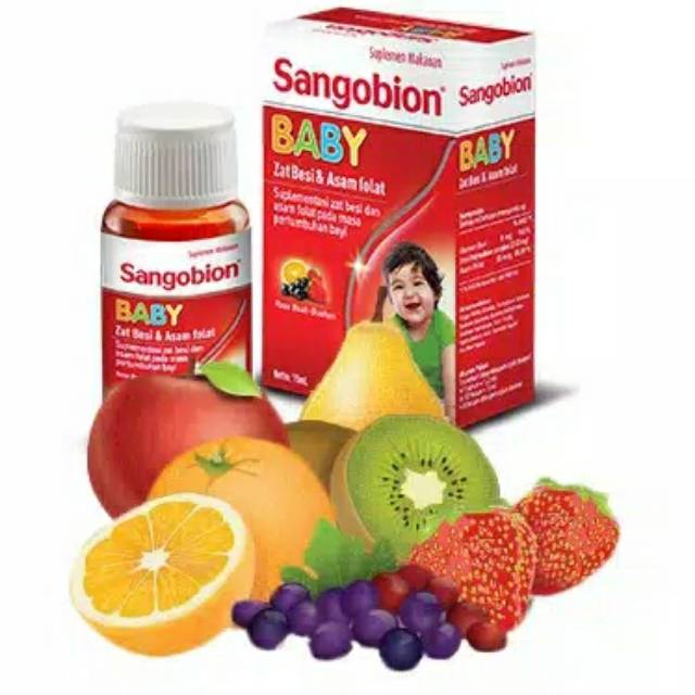 Sangobion Baby Drops Besar 30 Ml Shopee Indonesia