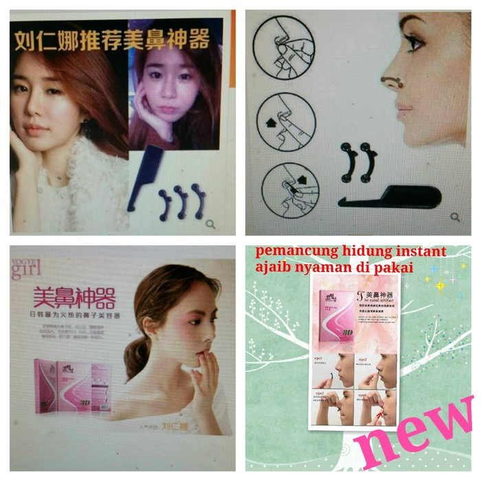 Pemancung hidung ECER / nose up 3D high increased the nose STEALTH | Shopee Indonesia