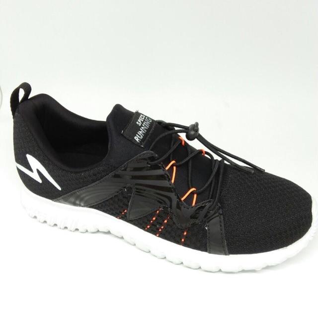Sepatu Specs Lari Running Manaslu - Black - Hitam  24b408db71