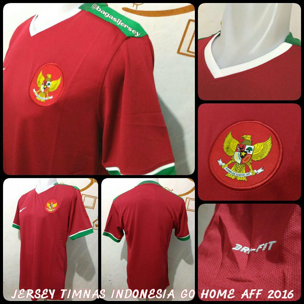 Jersey Timnas Indonesia Grade Temukan Harga Dan Penawaran Sepak Jaket Bola Ori Aff Abu 2016 Futsal Online Terbaik Olahraga Outdoor November 2018 Shopee