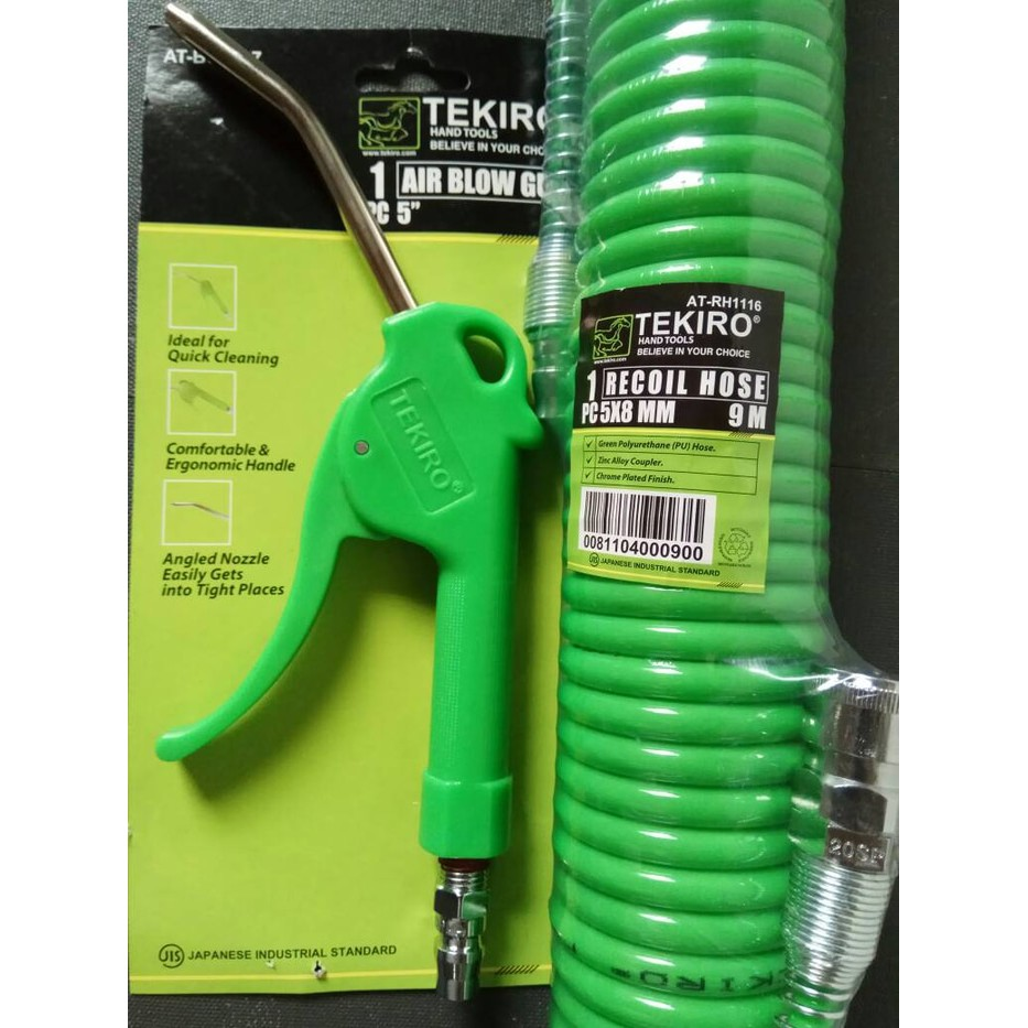 Selang Steam Set Nozzle Jet Cleaner Ac 10 Meter Shopee Tekiro Recoil Hose 15 Hijau With Spring Sepiral Indonesia