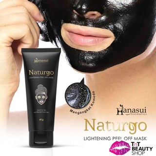 Hanasui Naturgo Lightening Peel Off Mask (TUBE) thumbnail