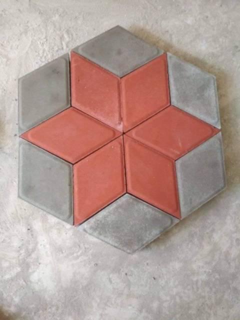 Cetakan Paving wajik Cetakan paving 3D alat cetak paving 3D