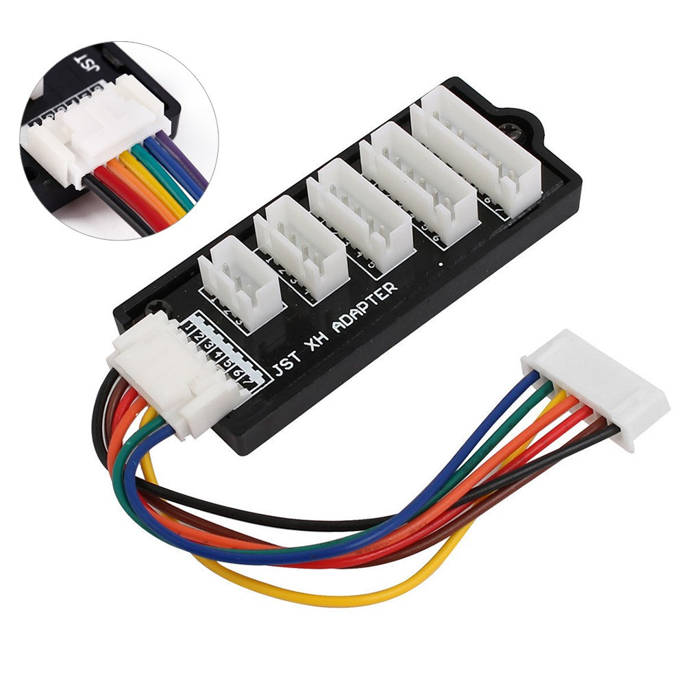 JST XH 2S-6S Balance Charger Expansion Adapter Board Fr RC Lipo Battery Charging