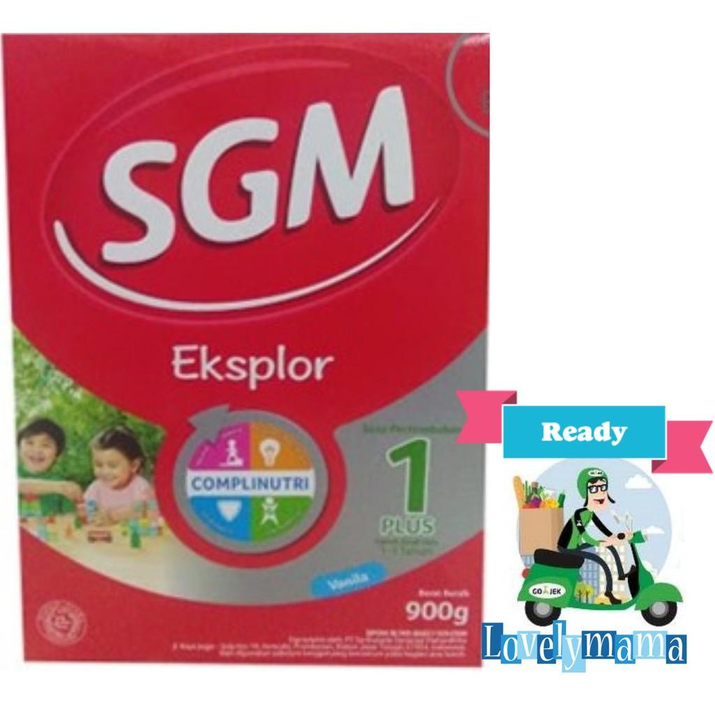 Sgm Eksplor 3 Vanila 900gr Shopee Indonesia Soya 1 5 Van Madu
