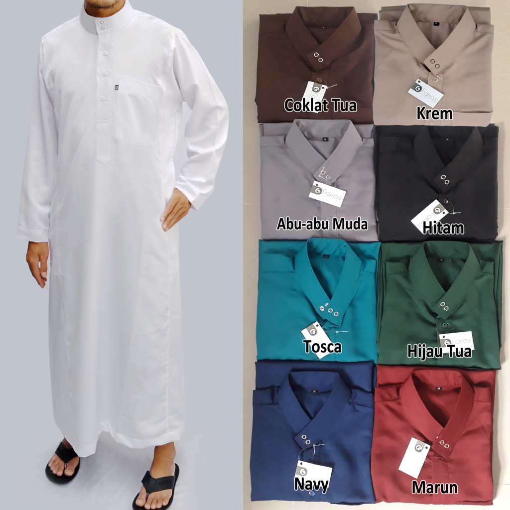Belanja Online Atasan Muslim Pria Fashion Shopee Indonesia Mutif M133 Dewasa Hitam Abu Misty