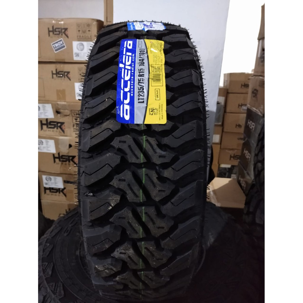 Ban Mobil MT-01 235 75 Ring 15 ACCELERA MT-01 235 75/R15 Pacul Offrod