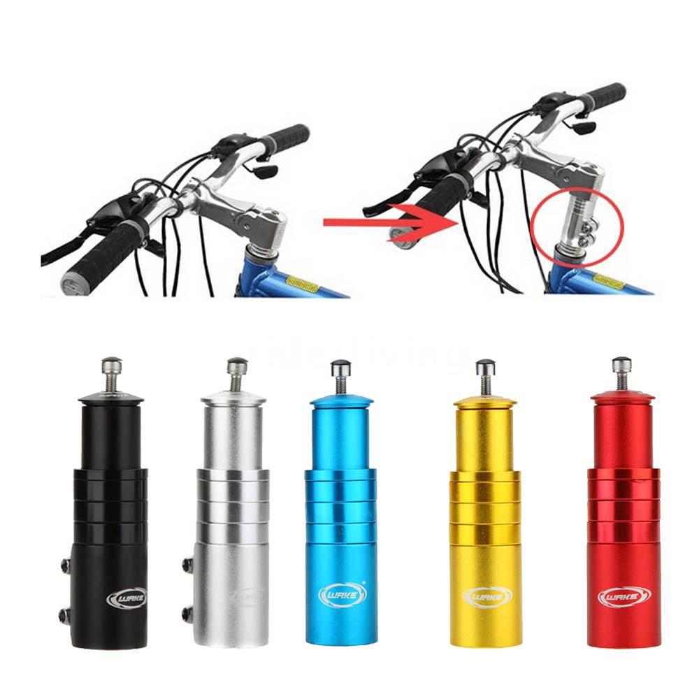 Bicycle Fork Stem Extender Bike Handlebar Riser Head Up Adapter Aluminium Alloy