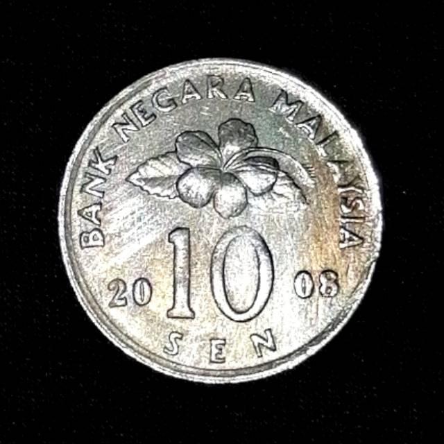 Koin Malaysia 50 Sen Tahun 2008.