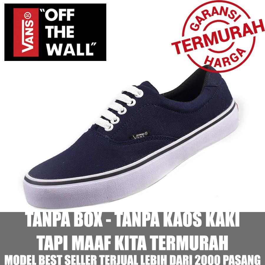 e958ac832ce Vans Sepatu Sneakers Casual Unisex Model Vans Trendy untuk Skateboard
