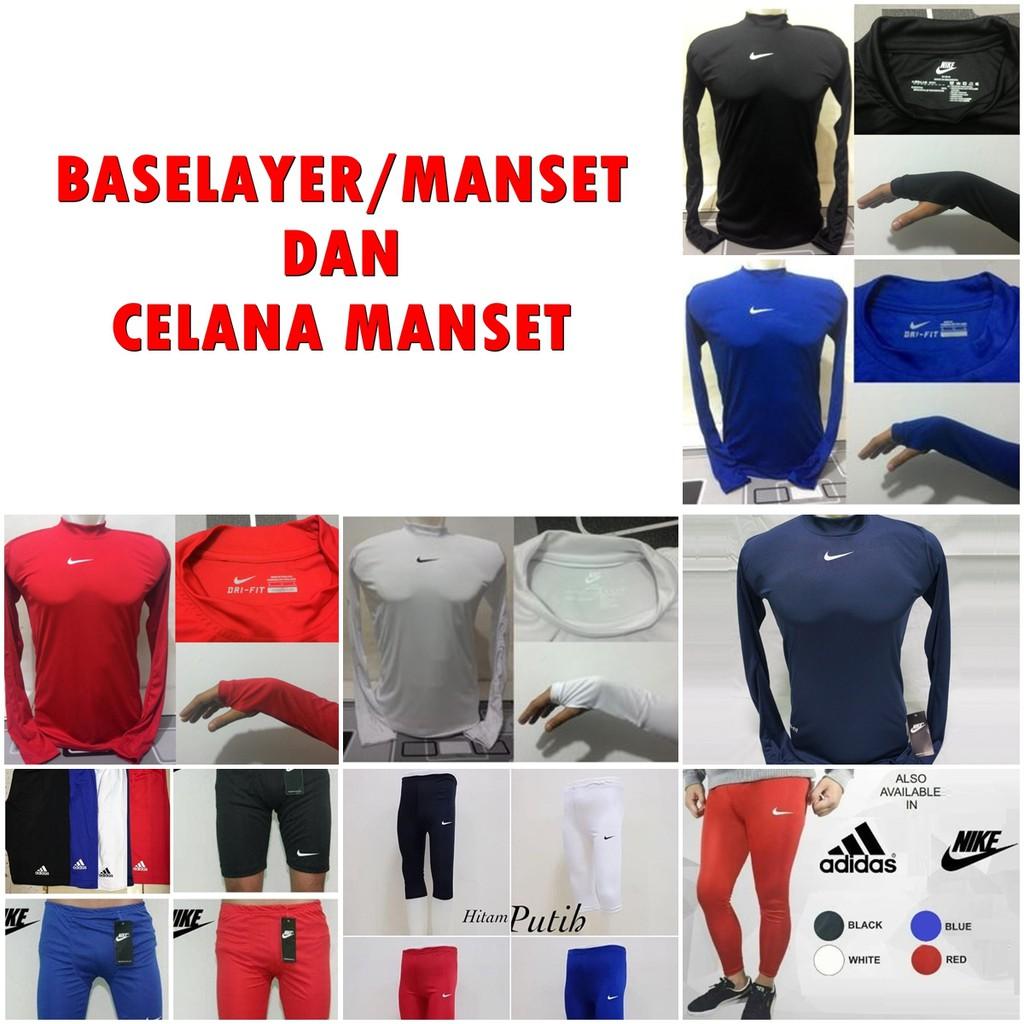 Celana Manset Baselayer Nike Adidas Shopee Indonesia Premium Base Layer Sports Compression Under Armour