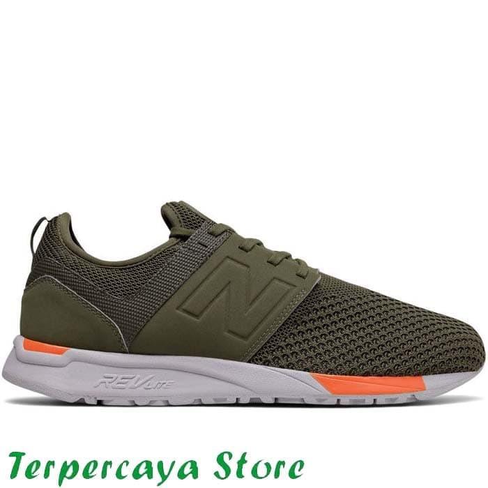 Sepatu New Balance Original 247 Sport - Olive NEWMRL247KO