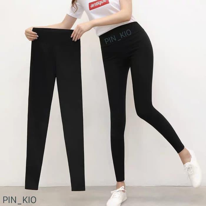 Model Terbaru Celana Legging Basic Hitam Polos Leging Wanita Import Termurah Hitam Shopee Indonesia