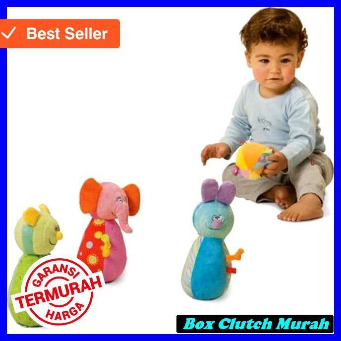 Garansi Termurah Cuci Gudang Mainan Bayi Taf Toys Baby Bowling Set ... c4792ffdb5