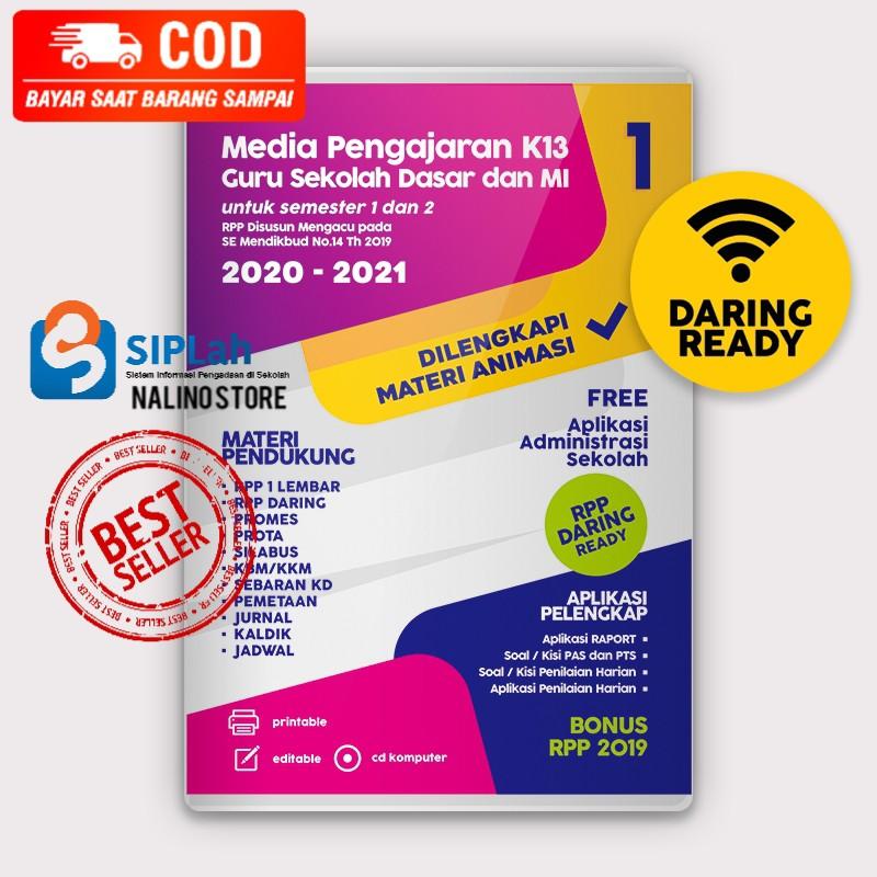 Cd Rpp 1 Lembar Rpp Daring Kelas 1 Sd Dilengkapi Media Animasi K13 Revisi Terbaru Sintesa Shopee Indonesia