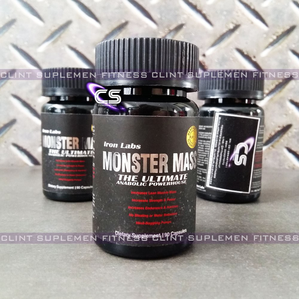 Iron Labs Monster Mass 90 Caps Shopee Indonesia Pro Hybrid Whey Ecer 2 Lb Mirip Elite Syntha Isobolic Mutant Protein Isolate