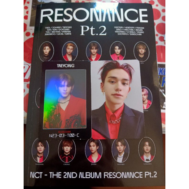 AC Taeyong Dan Photocard Lucas NCT Arrival 2020(booked) ( Baca deskripsi)